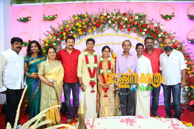 Indrans Son Marriage