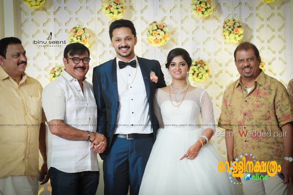 Lalu Alex Son Ben - Meenu Wedding Reception