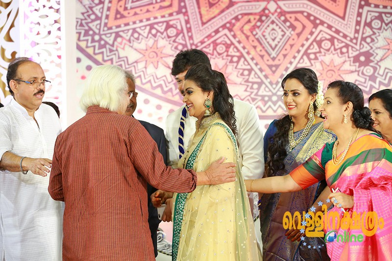 Revathy Suresh Marriage Reception